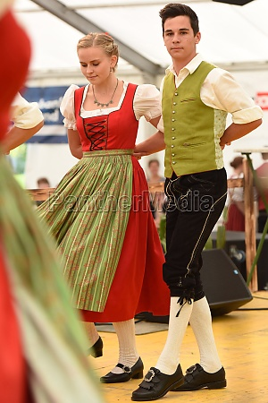 Öffentliche, aufführung, traditioneller, österreichischer, volkstänze, beim - 29871553