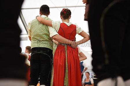 Öffentliche, aufführung, traditioneller, österreichischer, volkstänze, beim - 29871555
