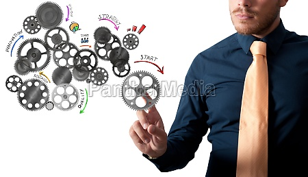 analysis project with gears mechanism