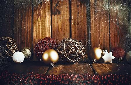 xmas grunge decoration background
