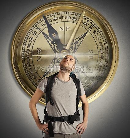 compass of explorer