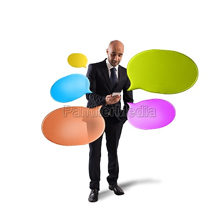 networking and send messages