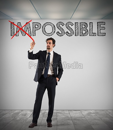 change impossible to possible