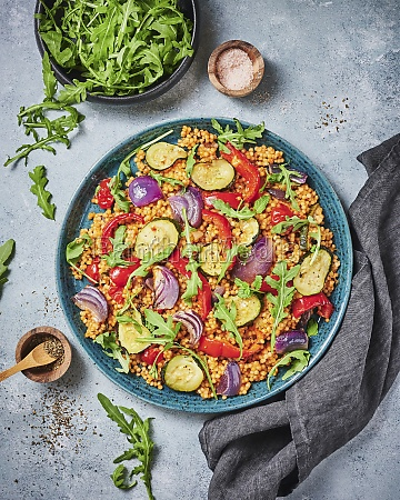 couscous rainbow salad