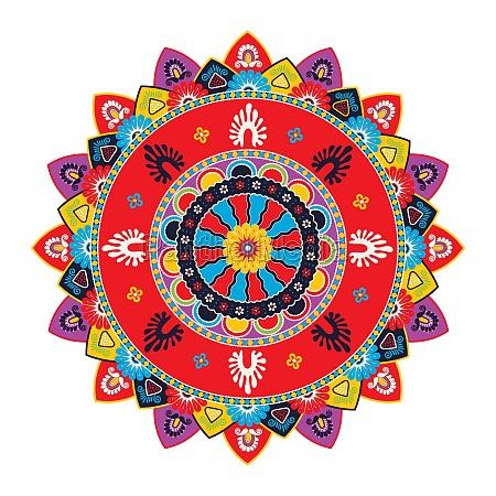 mandala vector template