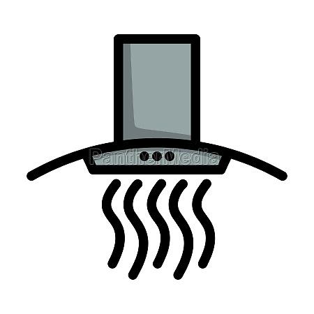 kitchen hood icon