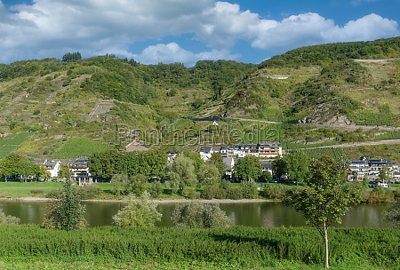 valwig mosel river mosel valley germany