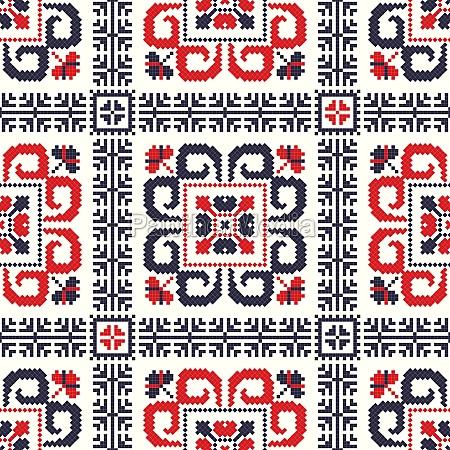 romanian traditional pattern 89