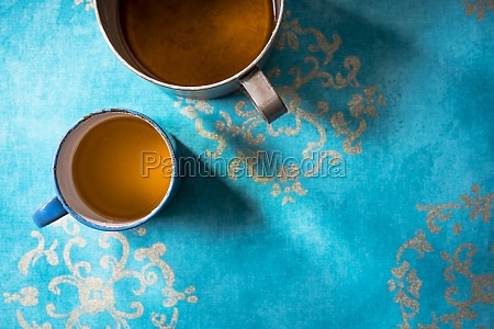 coriander and ginger tea in a