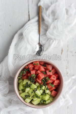 fresh water melon and melon