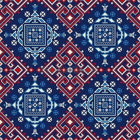 romanian traditional pattern 53