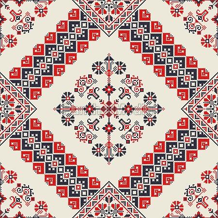 romanian traditional pattern 147