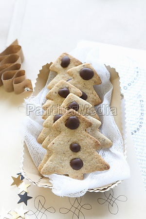 gluten free shortbread biscuits shaped like