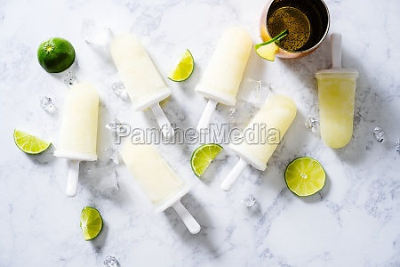 moscow mule popscicles
