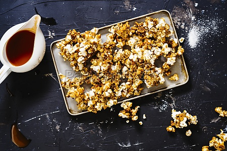 spicy salty buffalo wing popcorn
