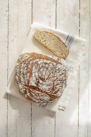 spelt bread with emmer flour