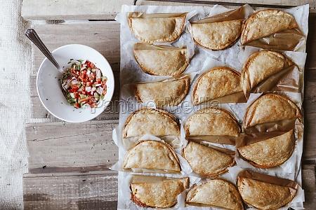 empanadillas pie patties with peeper