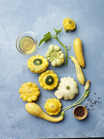 patty pan squash squash squash blossoms