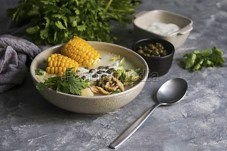 ajiaco colombiano patato soup common