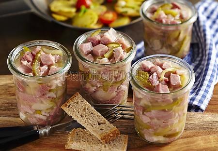 berlin stock in mason jars with