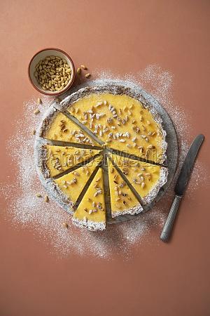 torta della nonna italian ricotta and
