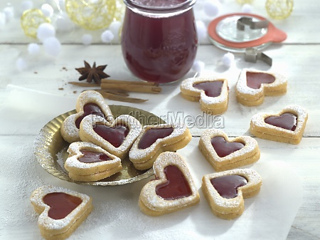anis biscuits with mulled wine