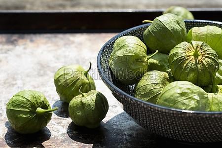 tomatillos green tomatoes mexico