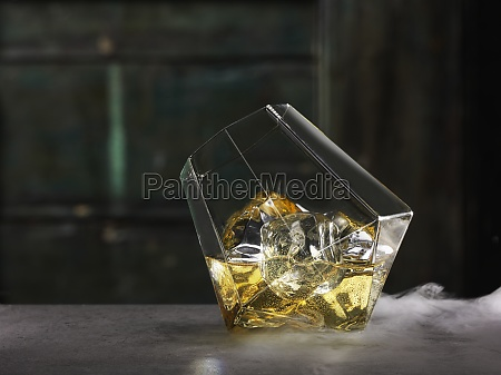 single malt whisky in a glass