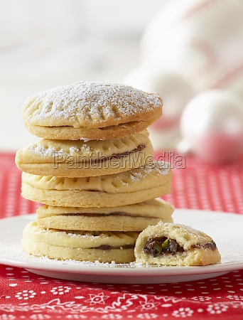 half moon biscuits for christmas