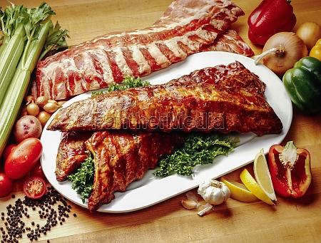 marinated bbq ribs