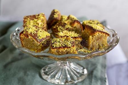 pistachio and seville orange cake with