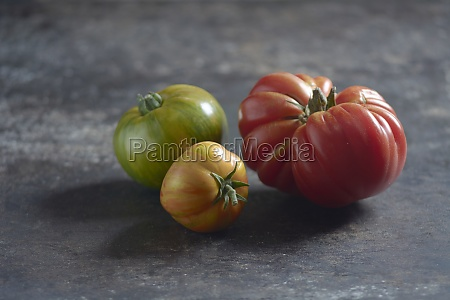 zebra tomatoes and an ox heart