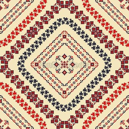 romanian traditional pattern 125