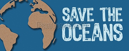 paper cut save the oceans