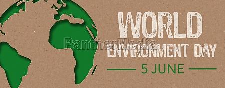 paper cut world environment day