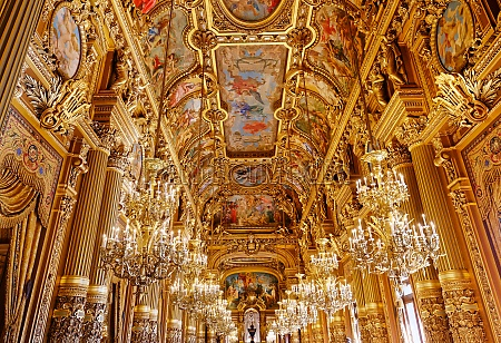 the palais garnier opera of paris