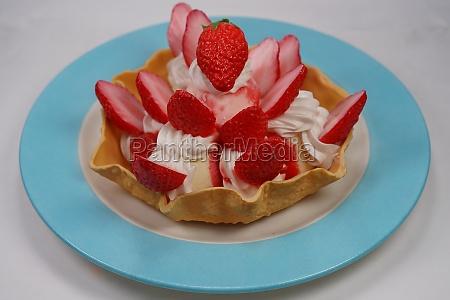strawberry tart image