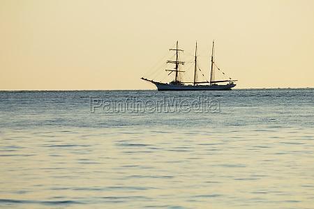tall ship sailing on ocean