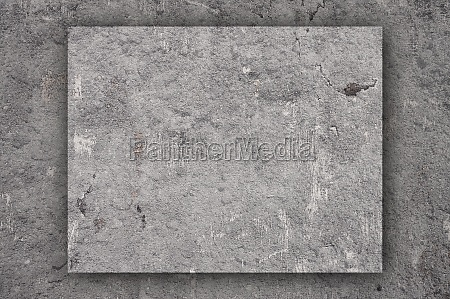 map of wyoming on weathered concrete