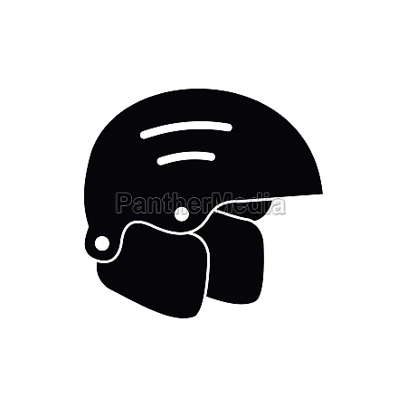 snowboard helmets icon simple style