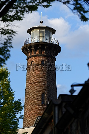 the famous helios lighthouse in cologne