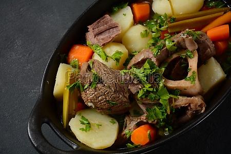 pot au feu traditional french stew
