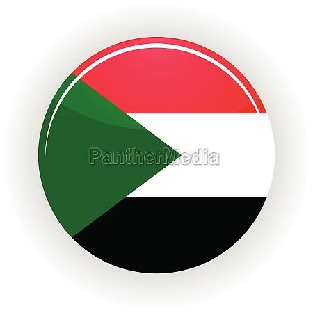 sudan icon circle