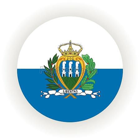 san marino icon circle
