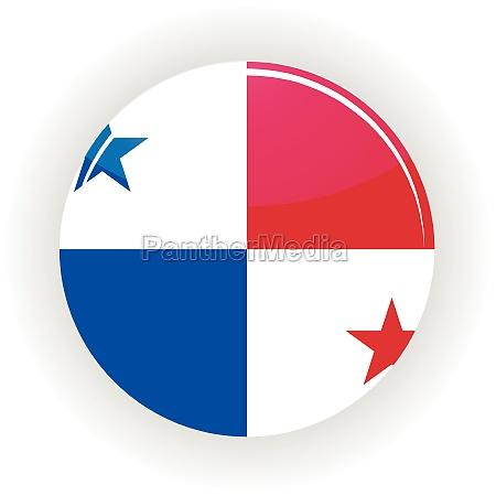 panama icon circle