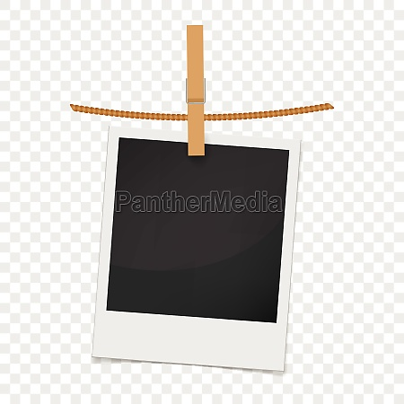 photo frame realistic style