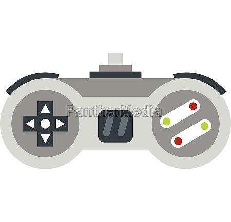 joystick icon flat style