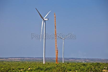 krs padene wind power plant construction