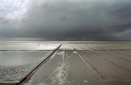 north sea beach on sylt