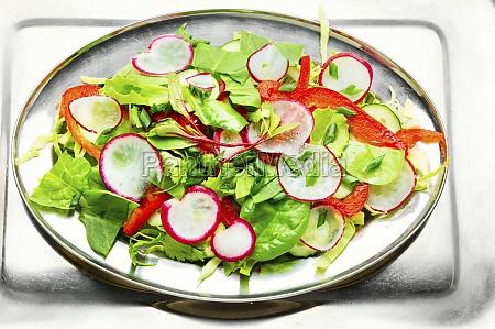 summer vegan salad